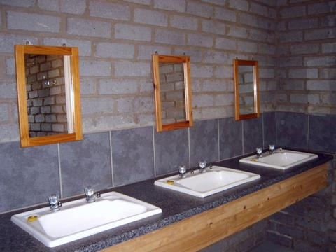 Camping - Ablution Basins and Mirrors